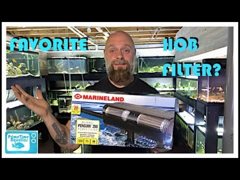 Marineland Penguin Filter Unboxing and Review