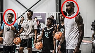 The Footage LeBron Never Wanted Us To See