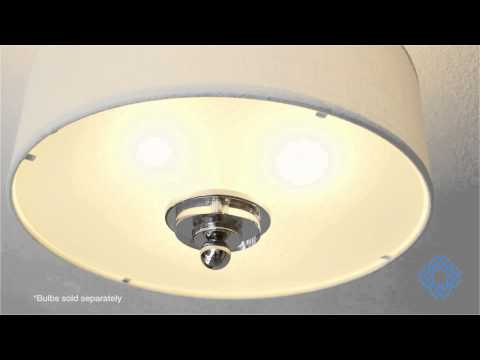 Video for Downtown Polished Chrome Semi-Flush
