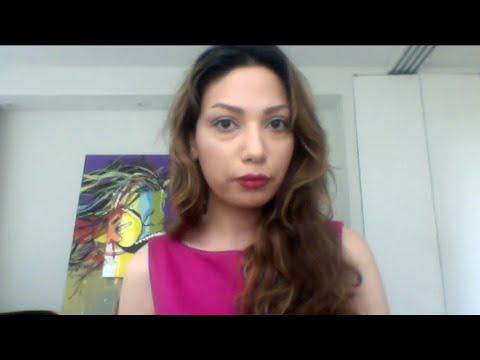 Iranian caricaturist Nasrin Sheykhi talks about her American experience