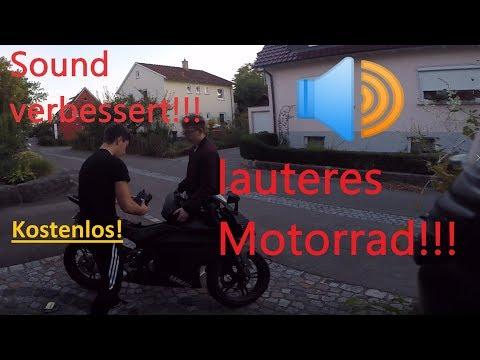 Soundproblem einer 125er gelöst! Luftfilter Umbau! lauteres Motorrad!   Yamaha YZF R 125