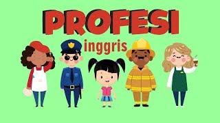Belajar Membaca Nama-nama Profesi dalam Bahasa Inggris Bagian 2 | Bunbun Learning Profession