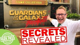 Guardians of the Galaxy Mission Breakout Secrets Revealed | Monsters After Dark