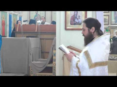 Заамвонная молитва иеромонаха Дионисия (Васильева)