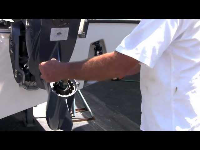 Yamaha Prop Change Boating Tip - iboats.com