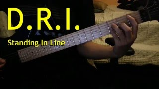 D.R.I. - Standing In Line Guitar cover