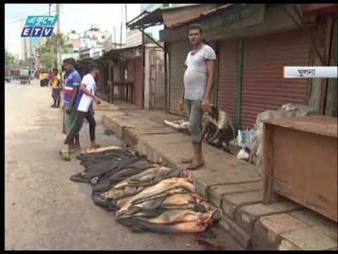 বিভিন্ন স্থানে কোরবানীর পশুর চামড়া কিনে বিপাকে প্রান্তিক ও মৌসুমী ব্যবসায়ীরা | ETV News
