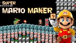 Super Mario Maker - A Few Good Ol Fashion Boss Battl