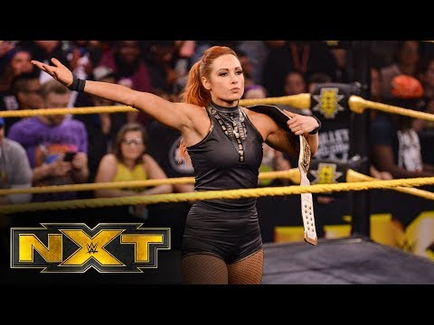 Becky Lynch accepts Rhea Ripley's challenge: WWE NXT, Nov. 20, 2019