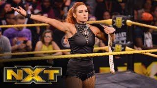 Becky Lynch accepts Rhea Ripley's challenge: WWE NXT