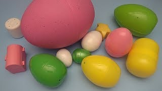 Colour Challenge!  Can You Find the Right Coloured Surprise Egg?
