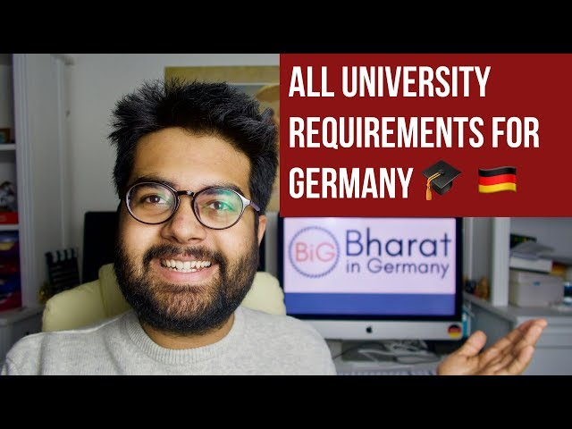 THESE ARE THE REQUIREMENTS for Studying in Germany!