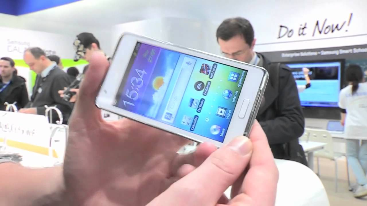 Samsung Galaxy S WiFi 4.2 hands-on thumbnail