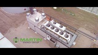 Martin Energy Group - 25 Sec Video of Generator 2018