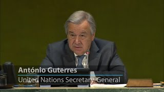 UN chief urges collective action in combatting intolerance and racial discrimination