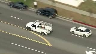 Pursuit ends with T-Bone crash in Pasadena