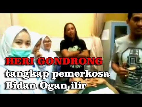 Heri Gondrong tangkap pelaku pemerkosa Bidan, Ogan ilir.