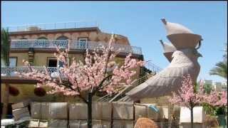preview picture of video 'Hurghada April 2014 Hotel FESTIVAL RIVIERA / LE JARDIN Teil 1'