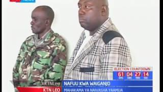 Mahakama kuu Naivasha imebadilisha hukumu ya mfungo wa miaka mitano dhidi ya Joshua Waiganjo