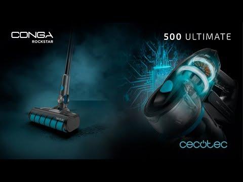 Aspirador escoba digital Conga RockStar 500 Ultimate Cecotec