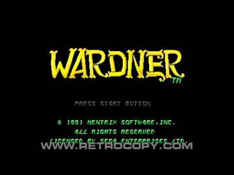 Wardner Megadrive