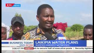 National Irrigation Board (NIB)'s free water pans in Laikipia County strengthen local economy