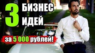 Топ 3 бизнес идеи с минимумом вложений. Бизнес за 5 000 рублей. Бизнес идеи 2020