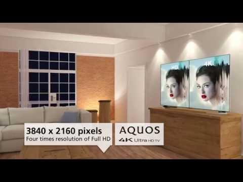 Sharp UD20 Series 4K Ultra HD Smart LED TV