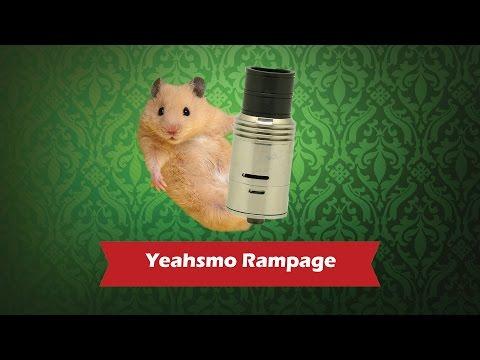 Rampage (Yeahsmo) - обслуживаемый атомайзер для дрипа - видео 1