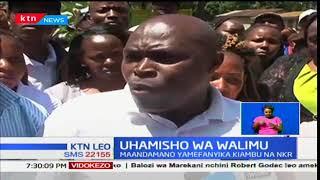 Uhamisho wa Walimu:Utata umeendelea kushuhudiwa nchini kutokana na aagizo la waziri Matiang'i