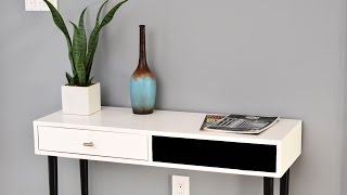 How To Make A Mid Century Modern Accent Table | DIY Build