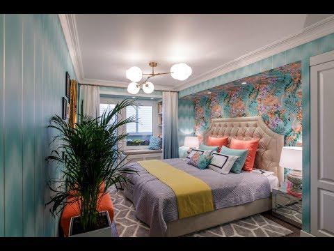 «Квартирный вопрос»: проект «Спальня с розовыми фламинго» при участии Cosmorelax