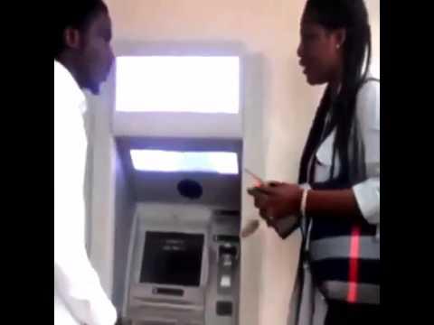 Naija babe @ ATM
