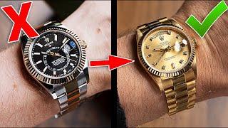 Uhrengröße richtig einschätzen   Ist Deine Uhr zu groß?