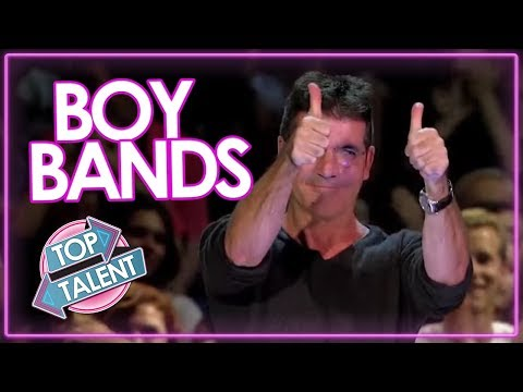 TOP 7 BEST BOY BAND Auditions On X factor and Got Talent   Top Talents (видео)