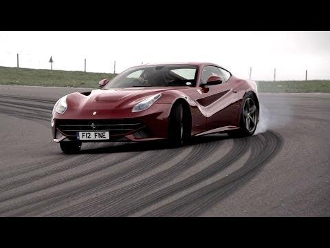 Ferrari F12 Drifting