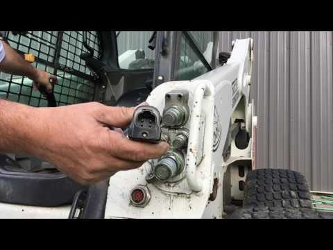 Genius Videos How to connect 7, 8  14 Pin Skid Steer Attachments