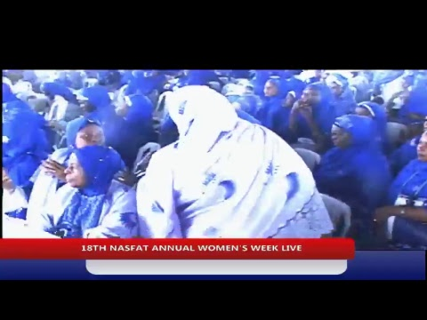 GRAND FINALE OF18TH ANNUAL NASFAT WOMEN'S WEEK