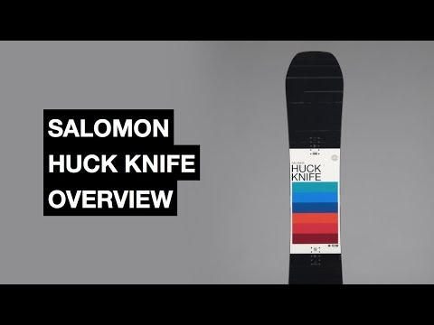 Salomon Huck Knife 2017-2018 Snowboard Review | The Snowboard Asylum