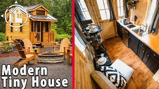 Sophisticated Tiny House with Modern and Manly Interior | Kholo.pk