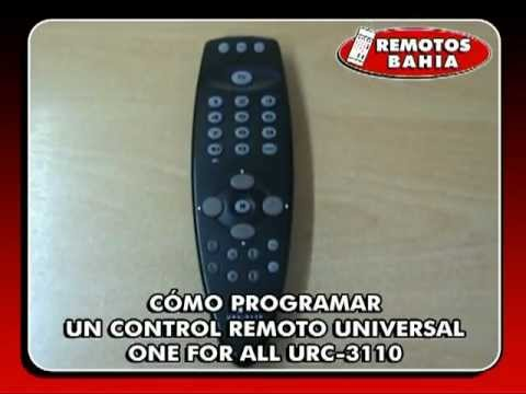 Universal remote control [part 1] one for all oarusb04g / 6540.