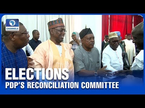 PDP Inaugurates Reconciliation Committee Ahead Of Kogi, Bayelsa Polls