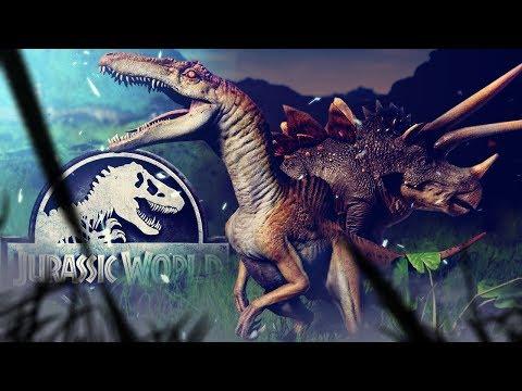 Jurassic World Evolution - All New Hybrids Spinoraptor Stegoceratops -  Secrets of Dr Wu Gameplay - Anthomnia
