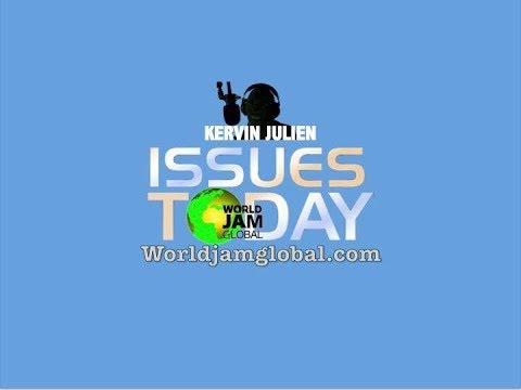 World Jam Global Radio Live Stream Issues Today with guest speaker Rev Victor White
