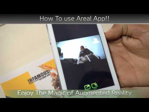 Video of AREAL : Augmented Reality App