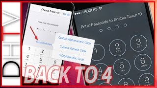 How To Get 4 Digit Simple Passcode Back On iPhone, iPad & iPod Touch With iOS 9