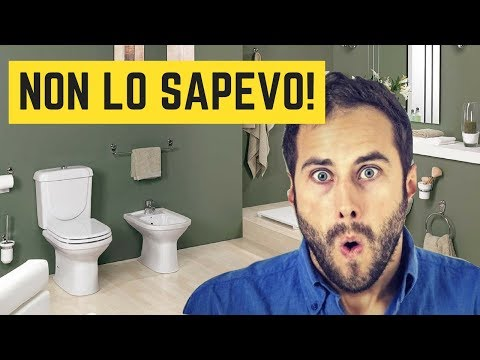 Tu sai come disporre i sanitari del bagno?