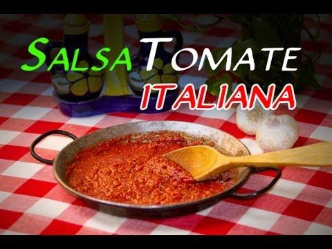 Receta De La Auténtica Salsa De Tomate Italiana
