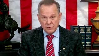 Roy Moore refuses to concede defeat, says