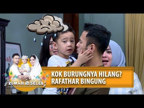 KOK BURUNGNYA ILANG?! Rafathar Bingung - Rumah Seleb (4/6) PART 2